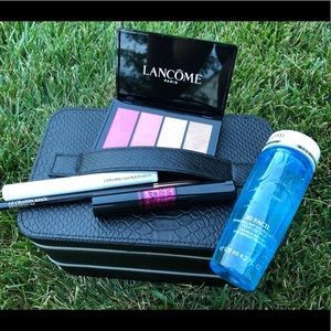 Lancôme train case with NEW full-size products